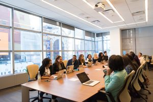 leadership boardroom meeting